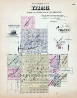 York, Thayer, Nebraska State Atlas 1885