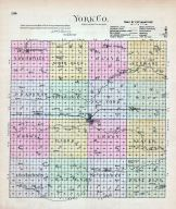York County, Nebraska State Atlas 1885
