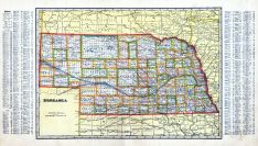 State Map, Nemaha County 1913