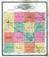 County Outline Map, Pierce County 1920