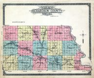 County Outline Map, Richardson County 1913