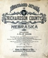 Title Page, Richardson County 1913