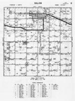 Salem Township, Richardson County 1963