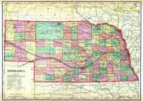 State map, Saunders County 1907