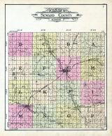 Index County Outline Map, Seward County 1908