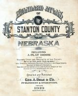 Title Page, Stanton County 1919