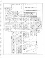 Deshler Section Map, Thayer County 1976