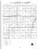 Friedensau - Southeast, Hebron - Southwest, Deshler - East, Stoddard - Northwest, Thayer County 1976