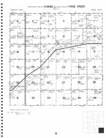 Hubbell - Southeast, Rose Creek - South, Thayer County 1976