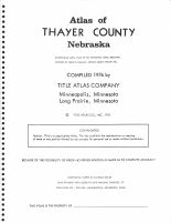 Thayer County 1976