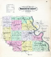 County Outline Map, Washington County 1908