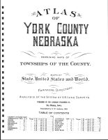 Title Page, York County 1924