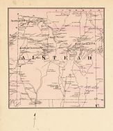 Alsted Township, East Alsted P.O., Warren Pond, Cheshire County 1877