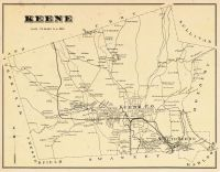 Keene Township, South Keene, Goose Pond, Cheshire County 1877