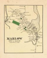 Marlow Town, Cheshire County 1877