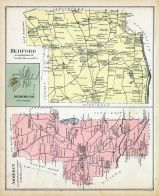 Amherst, Bedford, Bedford Town, New Hampshire State Atlas 1892