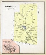 Brookline, Brookline Town, New Hampshire State Atlas 1892