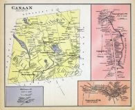 Canaan, New Hampshire State Atlas 1892