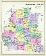 Cheshire County, New Hampshire State Atlas 1892