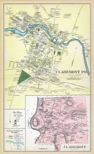 Claremont, New Hampshire State Atlas 1892