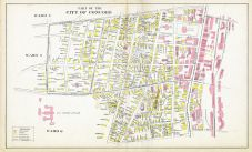 Concord City - Wards 6 7, New Hampshire State Atlas 1892
