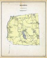 Deering, New Hampshire State Atlas 1892