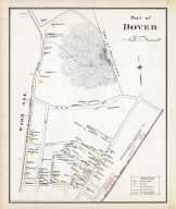 Dover - Ward 1A, New Hampshire State Atlas 1892