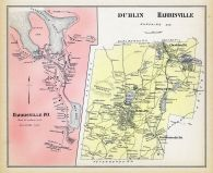 Dublin and Harrisville, Harrisville Town, New Hampshire State Atlas 1892