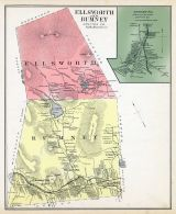 Ellsworth and Rumney, Rumney Town, New Hampshire State Atlas 1892