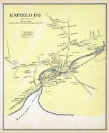 Enfield Town, New Hampshire State Atlas 1892
