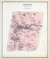 Epson, New Hampshire State Atlas 1892