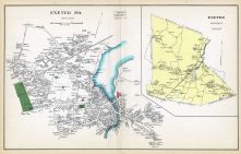 Exeter Town, Exeter, New Hampshire State Atlas 1892