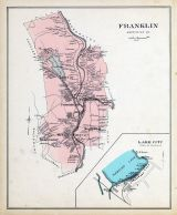 Franklin, Lake City(Franklin), New Hampshire State Atlas 1892