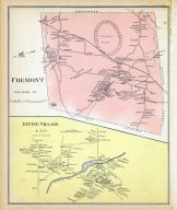 Fremont, Epping Village, New Hampshire State Atlas 1892