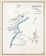 Gonic - Town, New Hampshire State Atlas 1892