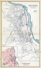 Great Falls - Somersworth, Somersworth, New Hampshire State Atlas 1892