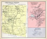 Greenville & Mason, Greenville Town, Greenville East, New Hampshire State Atlas 1892