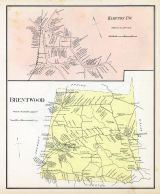 Hampton Town, Brentwood, New Hampshire State Atlas 1892