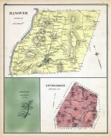 Hanover, Livermore, ETNA, New Hampshire State Atlas 1892