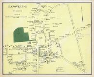 Hanover Town, New Hampshire State Atlas 1892