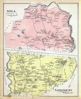 Hill, Canterbury, New Hampshire State Atlas 1892