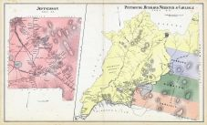 Jefferson, Pittsburg, Hubbard, Webster, Carisle, New Hampshire State Atlas 1892