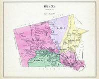 Keene, New Hampshire State Atlas 1892