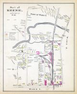 Keene - Ward 5, New Hampshire State Atlas 1892