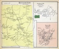 Kennsington, Derry East, Derry Town, New Hampshire State Atlas 1892
