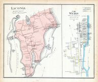 Laconia, The Weirs, New Hampshire State Atlas 1892
