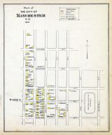 Manchester - Ward 1, New Hampshire State Atlas 1892