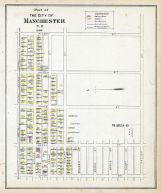 Manchester - Ward 6B, New Hampshire State Atlas 1892
