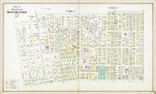 Manchester - Wards 2 3 4A, New Hampshire State Atlas 1892