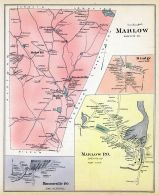Marlow, Marrlow Town, Munsonville, Rindge Town, New Hampshire State Atlas 1892